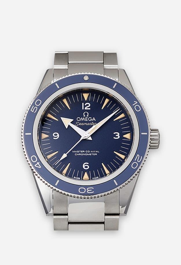 Omega Seamaster 300 Blau 233.90.41.21.03.001