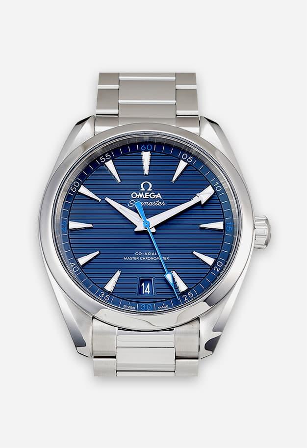 Omega Seamaster Aqua Terra 150M Blau 220.10.41.21.03.002
