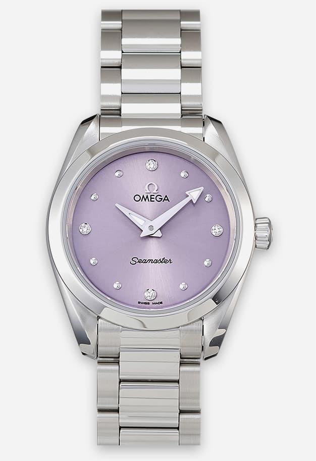 Omega Seamaster Aqua Terra 150M Quarz Violett 220.10.28.60.60.001