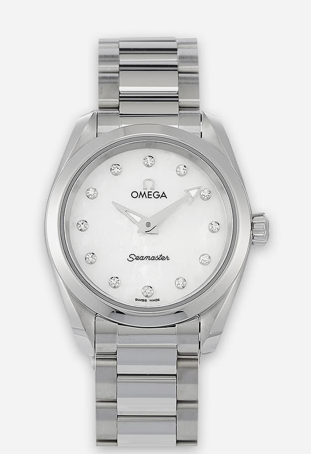 Omega Seamaster Aqua Terra 150M Quarz Weiß 220.10.28.60.55.001