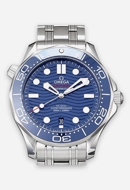 Omega Seamaster Diver 300M Blau 210.30.42.20.03.001