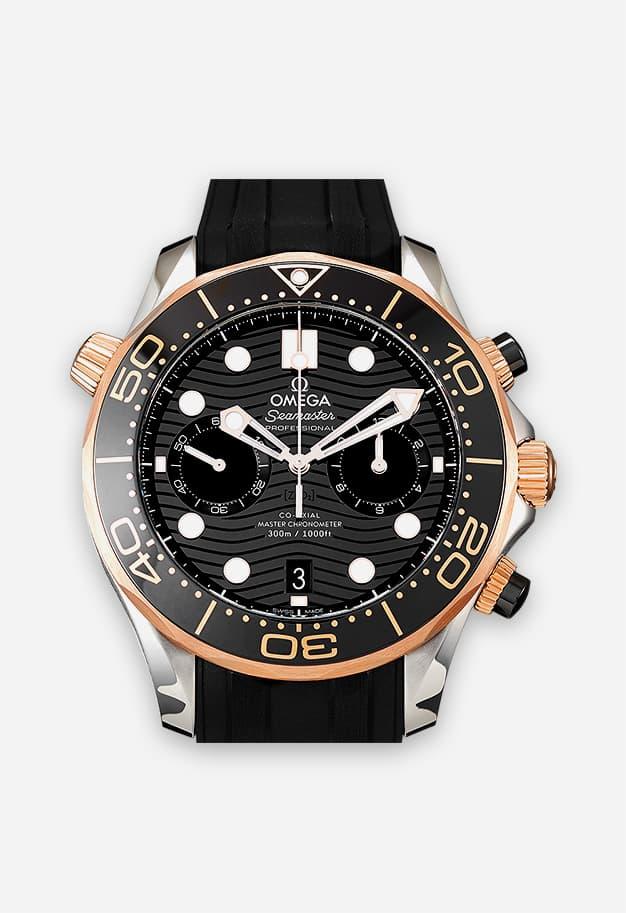 Omega Seamaster Diver 300m Gold 210.22.44.51.01.001
