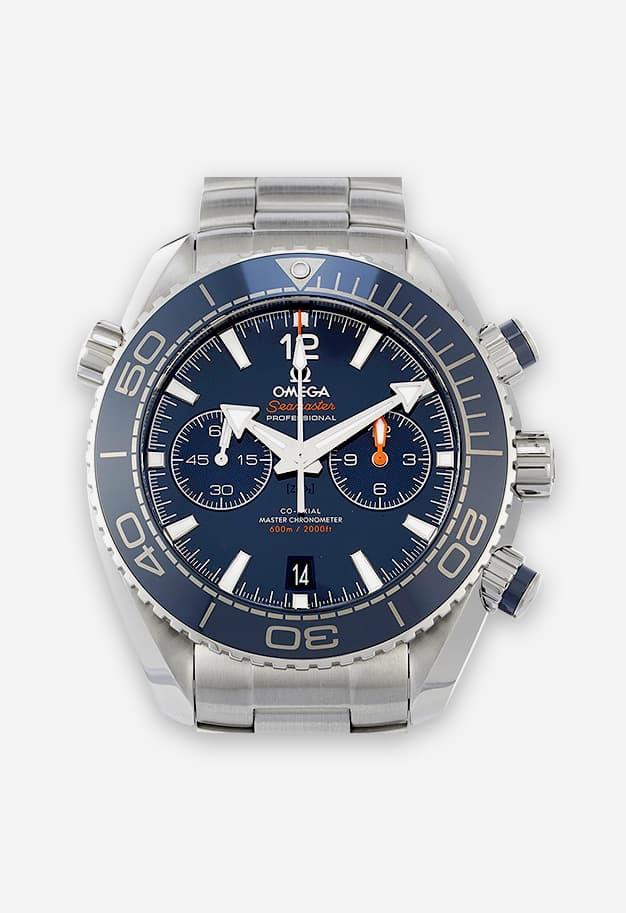 Omega Seamaster Planet Ocean 600M Chronograph Blau 215.30.46.51.03.001