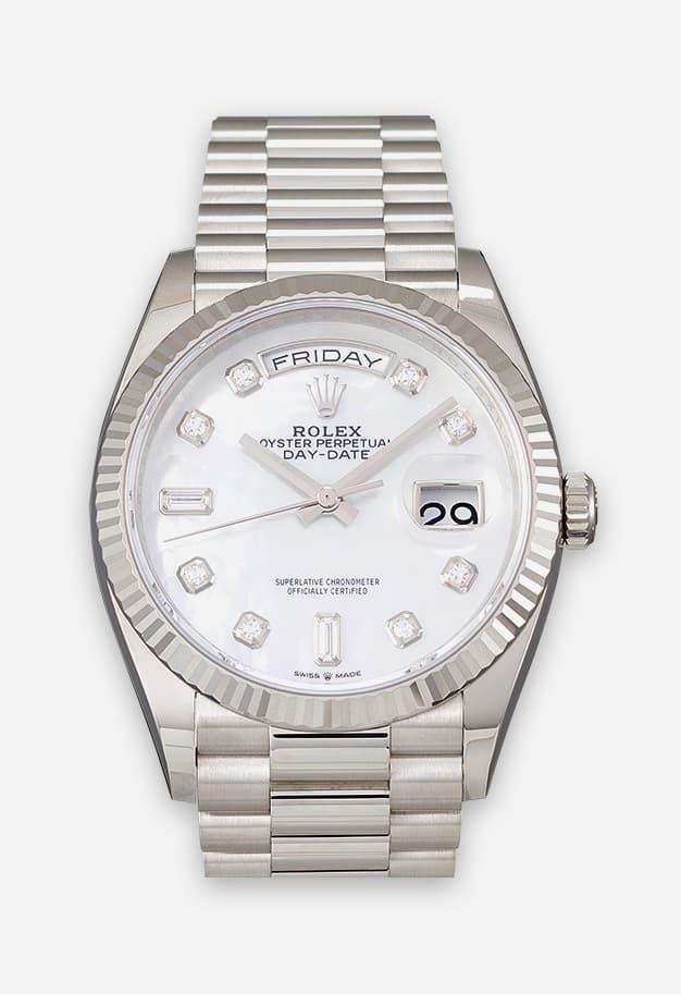 Rolex Day-Date Weißgold 128239-0007