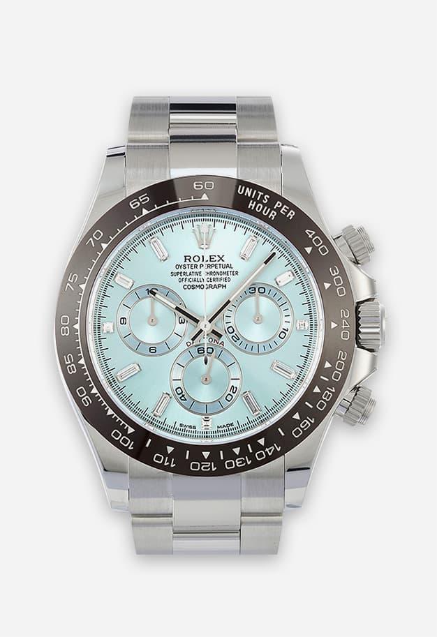 Rolex Daytona Platin - Ice Blue 116506-002