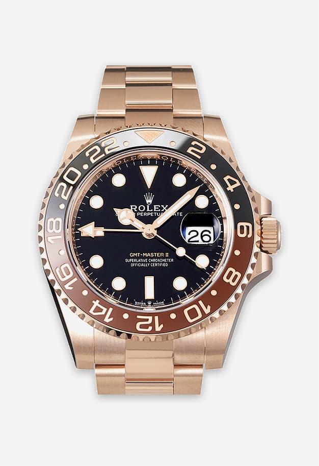 Rolex GMT Master 2 Rose Gold 126715CHNR