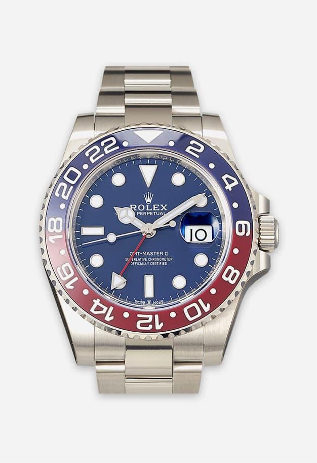 Rolex GMT Master 2 Weißgold 126719BLRO-0003