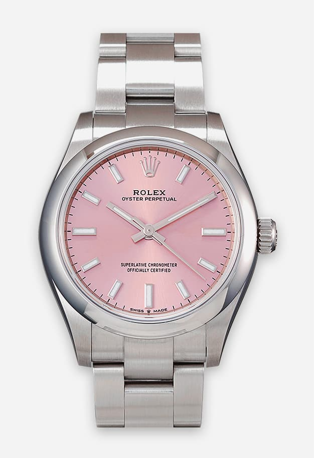 Rolex Oyster Perpetual 31 mm Pink 277200-0009
