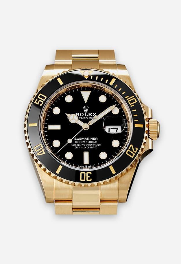 Rolex Submariner Gold - 126618LN